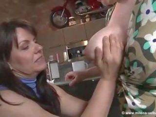 Hot Boob Milk Sucking